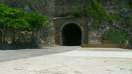 Stock Video Footage of Quebradillas train tunnel - tunel - puerto rico