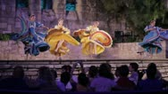 Stock Video Footage of Stock Footage - San Antonio Texas -  Beautiful Mexican Dancers - Tourist Pass