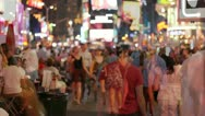 Stock Video Footage of NYC Times Square timelapse