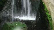 Garden Waterfall Stock Footage