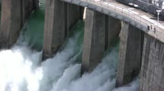 Dam floodgates 3 by dwking Stock Footage