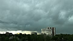 Storm Clouds over Denver Stock Footage