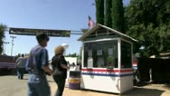 Stock Video Footage of ticket booth