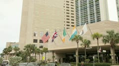 Intercontinental Hotel Downtown Miami - stock footage