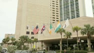 Intercontinental Hotel Downtown Miami Stock Footage