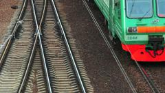 Railways and train Stock Footage