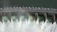 Dam floodgates 2 by dwking Stock Footage