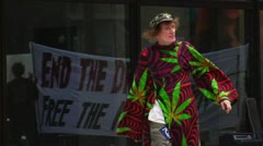 Weed Dude - stock footage