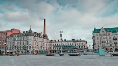 Tampere Timelapse 6 1 Stock Footage