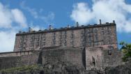 The Castle of Edinburgh Stock Footage
