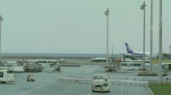 Okinawa Naha Airport 13 Stock Footage