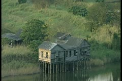 House on river 7 by DJM Stock Footage