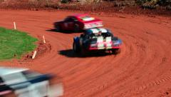 Super Stock Car Race 05 Stock Footage