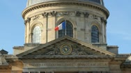 Institut de France. Stock Footage