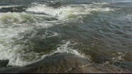 Stock Video Footage of Churning cascades