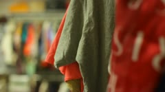 Clothing Closet Stock Footage