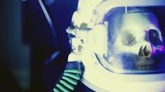 Horror Dead Atronaut astro Stock Footage