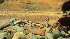 mining junk mine - stock footage