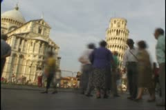 Leaning tower Stock Footage