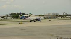 Spirit Air passenger jet Stock Footage