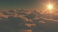 Running clouds HD Stock Footage