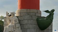 The Rostral Column - stock footage