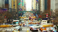 Urban Traffic - stock footage