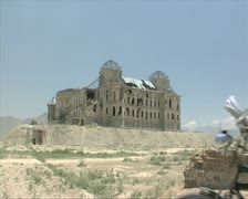 Kabul city general shots Stock Footage
