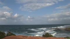 Kauai  Ocean time lapse shot Stock Footage