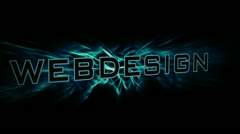 Webdesign Stock Footage