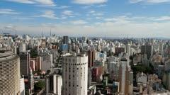 Sao Paulo, Brazil wide 2 - stock footage