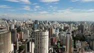 Sao Paulo, Brazil wide 2 Stock Footage