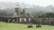 Stock Video Footage of Fort Ross