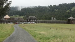 Fort Ross - stock footage
