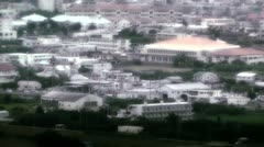 Japanese rural City in Okinawa Islands stylized 02 Stock Footage