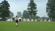 Military encampment 08 Stock Footage