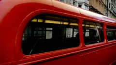 London Old Bus - stock footage