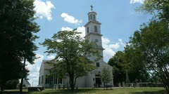 St. Johns Church - Patrick Henry - Richmond, VA (Sequence #2) Stock Footage