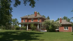 Architecture, Calgary, Colonel Waker house Stock Footage