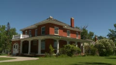 architecture, Calgary, Colonel Waker house - stock footage