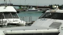 Port in Ishigaki Okinawa 23 Stock Footage