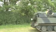 Stock Video Footage of Armoured Personnel Carrier