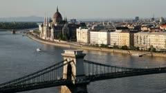 Budapest, Hungary - stock footage