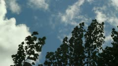 Storm clouds coming  1 Stock Footage