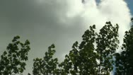 Storm clouds coming  3 Stock Footage