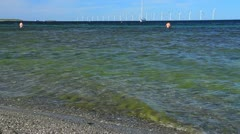 Offshore Wind Farm, Europe GFHD Stock Footage