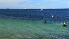 Offshore Wind Farm GFHD Stock Footage