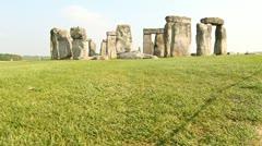 Stonehenge - stock footage