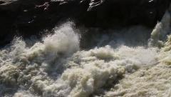 Water Falling Slomo GFHD Stock Footage
