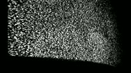 Television noise Stock Footage